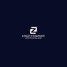 Modern Minimalist Z Logo With ...