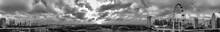Black And White Panoramic Aeri...