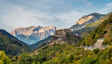 Castles And Landscapes Near Th...