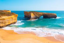 Australia Great Ocean Road Arch Cliffs