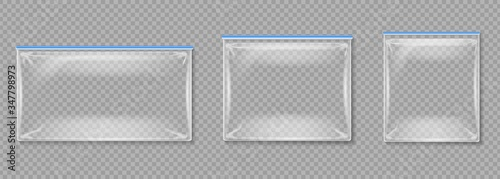 Photo Plastic pouches