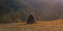 Old Fashioned Hay Stack