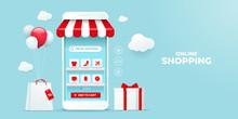 Online Shopping Concept Illust...