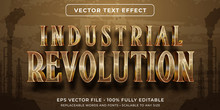 Editable Text Effect - Industrial Revolution Vintage Style