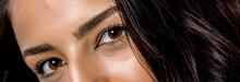 Close-up Photo Of Woman Eye Wi...