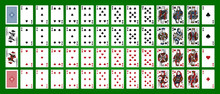 Poker Set With Isolated Cards ...