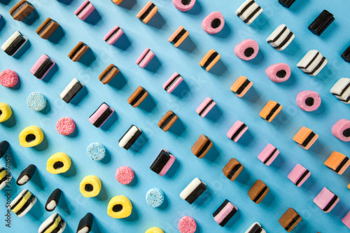 Photo Liquorice Allsorts Sweets Candy