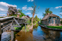 GIETHOORN, NETHERLANDS View Of...