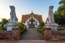 Buddhist Temple Of Wat Phumin ...