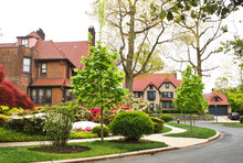 Forest Hills Homes Queens New York Suburbs Neighborhood Tudor Style Houses