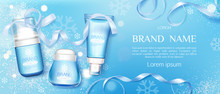 Winter Cosmetic Tubes And Crea...