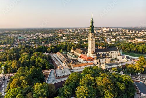 Jasna Góra, Częstochowa. Fototapeta