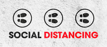 Concept Of Social Distancing -...