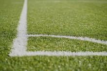 White Line Football Corner On ...