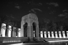 Low Angle View Of National World War Ii Memorial Against Sky