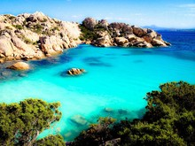 Turquoise Water Of Bay