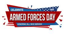 Armed Forces Day Banner Design