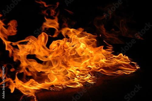 Valokuva Close Up Of Flame