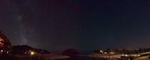 Starry Sky Over River