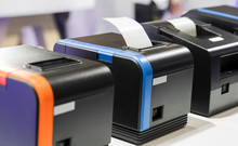 Paper Slip Exit From Thermal Printer