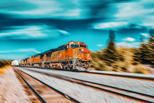 Freight Train BNSF Railway Com...