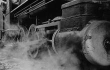 Old-fashioned Steam Engine