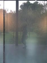 Reflection Of Woman Taking Selfie