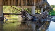 A Picturesque Creek Running Un...