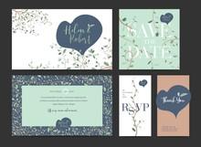 Wedding Invitation Design Set....