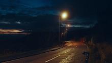 Quiet Road At Night