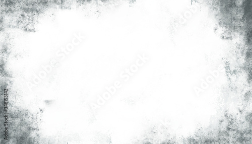 Dirty and ruined white background with marbled texture Canvas Print