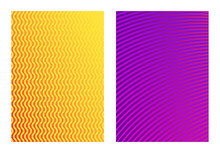 Vector Isolated Neon Color Geo...
