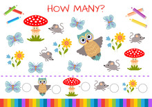 Mini-game For Children: How Ma...
