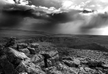 View Of Malham Cove Against Cl...