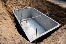 Concrete Rainwater Tank Embedded Underground
