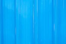 Zinc Industrial Texture Background. Wall Aluminum Blue.