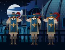 Sword Warrior Musketeers