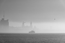 Fog Over The River Mersey