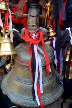 Bells In The Outside Hindu Tem...