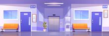 Hospital Corridor Interior, Me...