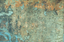 Texture Of Old Stucco On A Wal...
