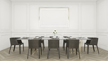 Modern Luxury Dining Room With...
