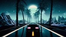 80s Retro Futuristic Sci-fi Se...