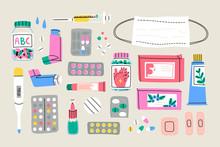 Various Medical Equipment: Dru...