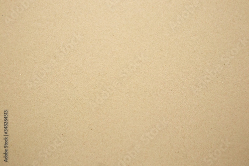 Fototapeta Brown paper eco recycled kraft sheet texture cardboard background obraz