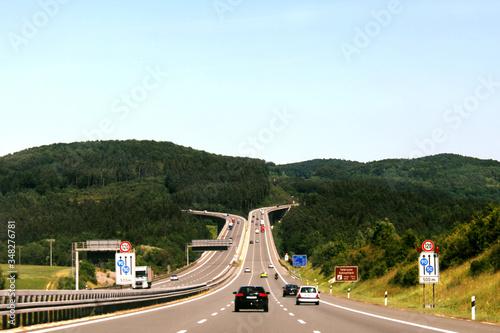Photo Autostrada Niemcy, Włochy, podróż po Europie