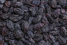 Background, Dried Black Sultana Grapes, Raisins