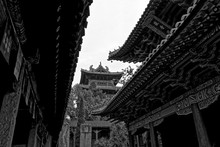 Black And White Shaolin Temple