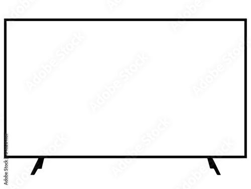 Télévision Canvas Print