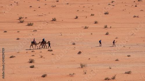 Valokuva escursione nel deserto Wadi Rum, Giordania